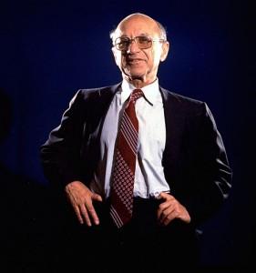 Econoom Milton Friedman