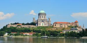 De basiliek van Esztergom is een hoogtepunt in de Donauknie
