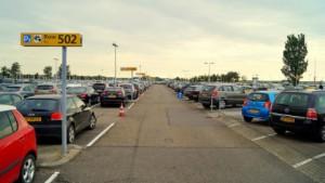 parkeerplaats Schiphol