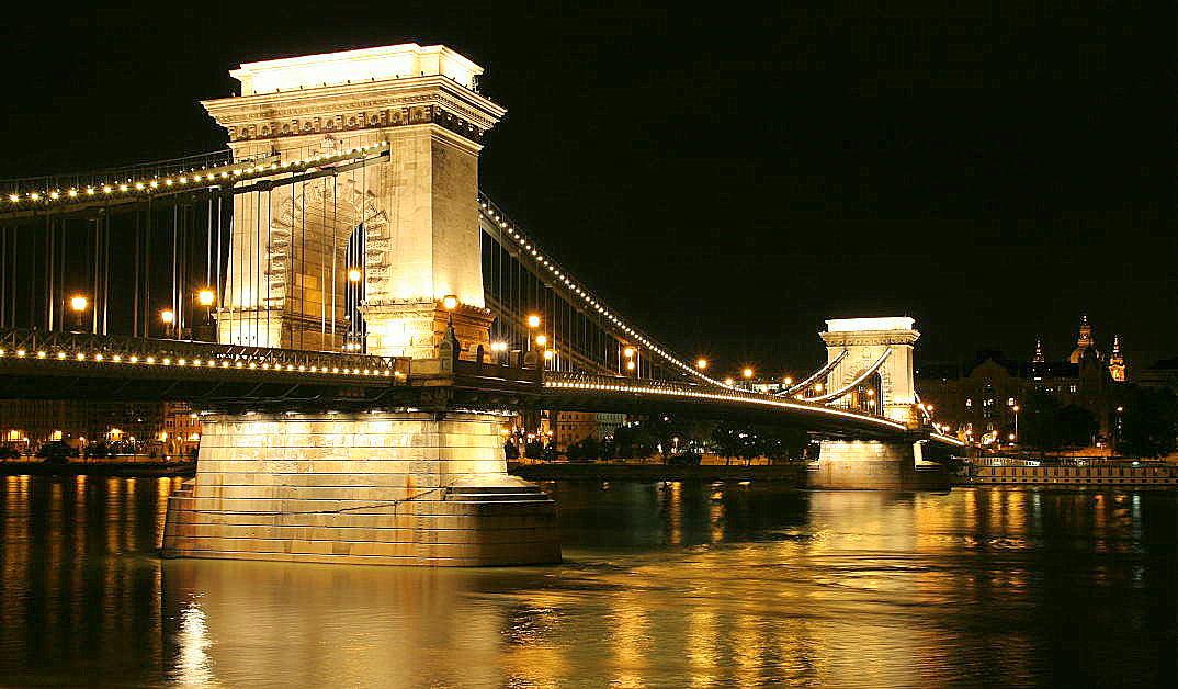 boedapest hongarije kettingbrug